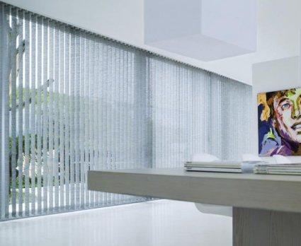 Vertikálne žalúzie montované vedľa seba, d-interior Bratislava