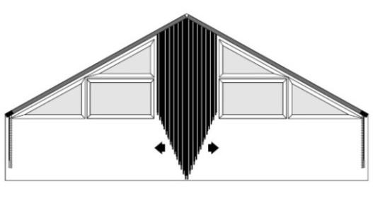 Vertikálne žalúzie pre šikmé stropy, d-interior, Bratislava