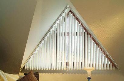 Vertikálne žalúzie pre šikmé stropy,d-interior, Bratislava