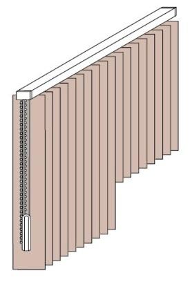 štandardné vertikálne žalúzie, d-interior, Bratislava